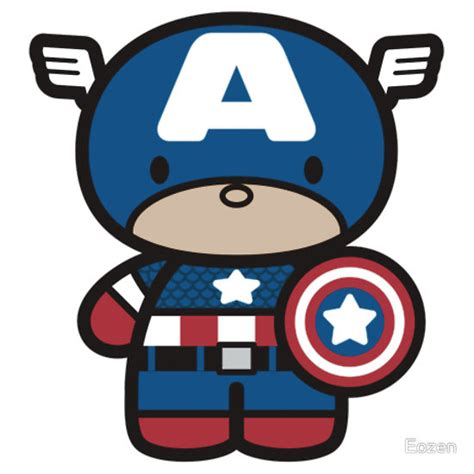 imagenes de batman kawaii quot chibi fi captain america quot t shirts hoodies by eozen