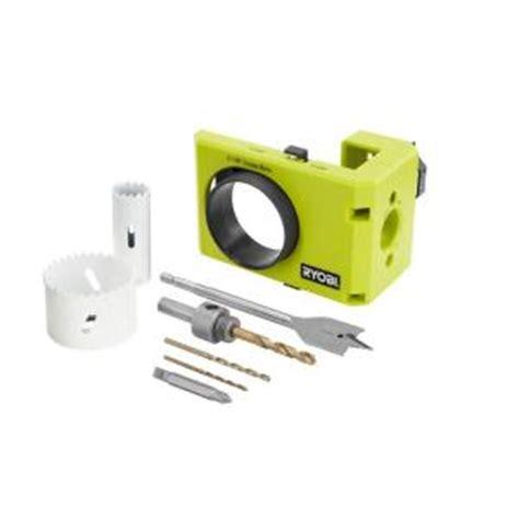 ryobi wood metal door lock installation kit a99dlk4 the