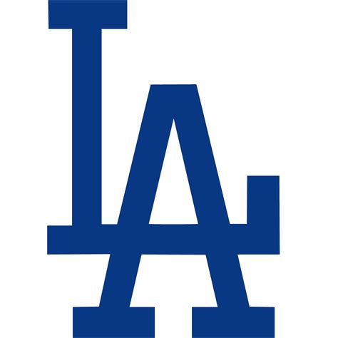 la blue los angeles dodgers logos