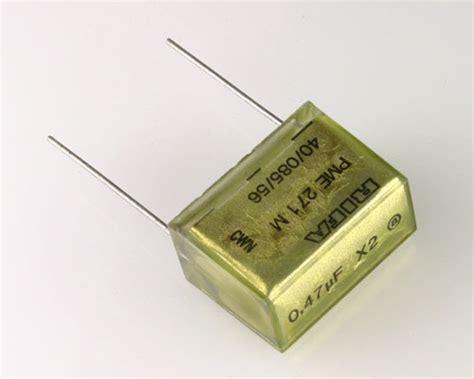 kapasitor rifa pme271m647m rifa capacitor 0 47uf 250v box cap radial 2020024186