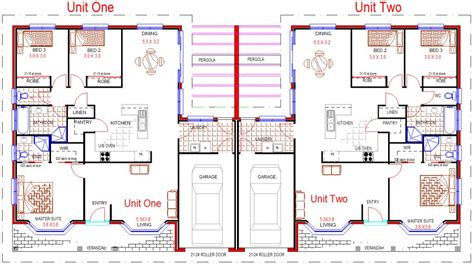 duplex townhouse floor plans duplex house plans 3 x 3 bedroom duplex colonial style