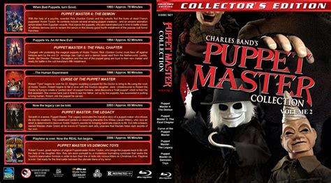 Master Vol 6 1 puppet master collection volume 2 cover 1993 2006 r1 custom