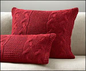 Pillows For The Bathtub Cable Knit Pillow Cover Pattern Home Design Ideas