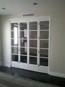 Glass Bifold Closet Doors Bed Bath Beutiful Glass Bifold Closet Doors With Door Molding And Interior Paint Colors Also