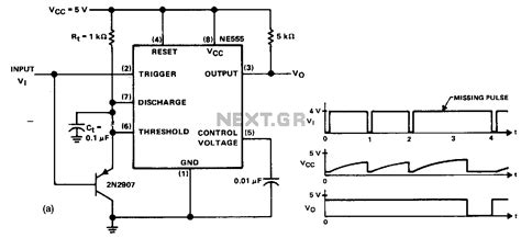 pulse detector circuit diagram missing pulse detector circuit diagram circuit and