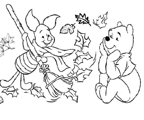 printable coloring pages fall theme autumn coloring pages for preschoolers coloring home