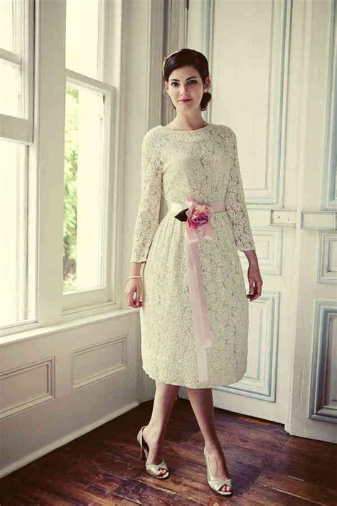 Brautkleider Kurz Vintage by Brautkleid Kurz Spitze Vintage Hochzeitskleid
