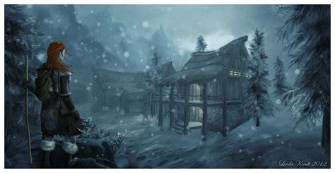 buy a house in winterhold returning home by isriana on deviantart