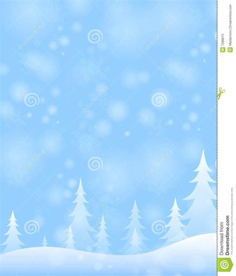 light for winter blues light blue winter snow scene stock illustration image