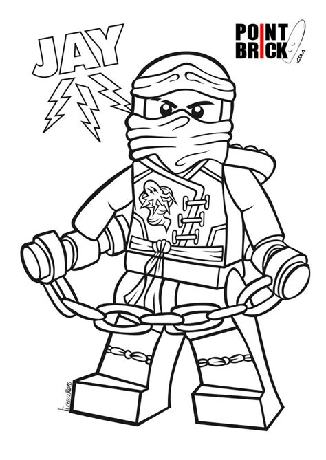 ninjago coloring pages of jay disegni da colorare lego ninjago jay master of