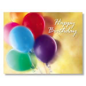 birthday balloons employee birthday cards