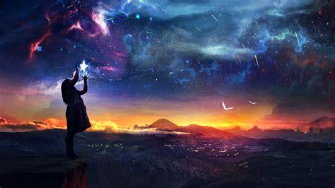 imagenes de fantasias mitologicas fondos de pantalla fotograf 237 a de paisaje estrella cielo