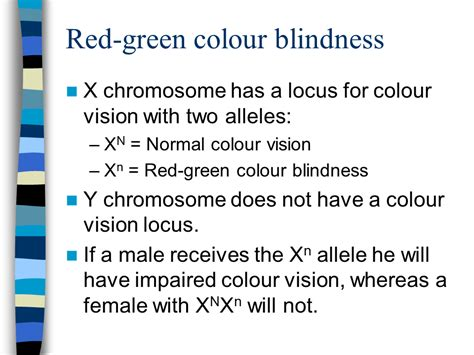 is color blindness dominant or recessive is color blindness recessive 28 images s honors
