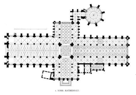 Canterbury Cathedral Floor Plan by Medieval York Minster Interior