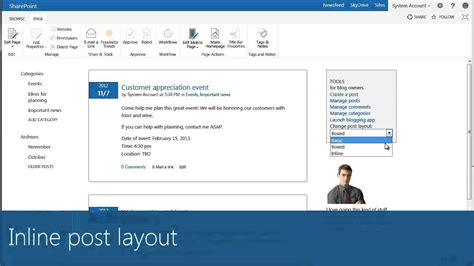 layout of a blog post how to manage your sharepoint 2013 blog post layout epc