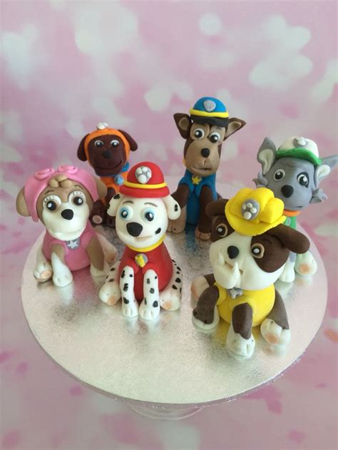 paw patrol cake decorations paw patrol cake toppers cake toppers cakes