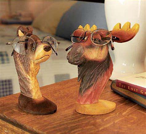 peepers wooden animal eyeglass holders the green