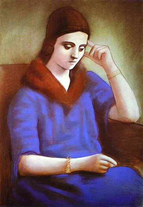 picasso paintings of olga the of pablo picasso prepared by saper galleries