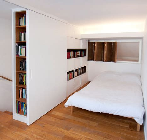 hide away beds for small spaces hideaway bedroom crafty built in wood white dividers