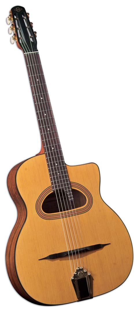 gypsy swing guitar saga cigano gj 15 student gypsy jazz guitar short scale