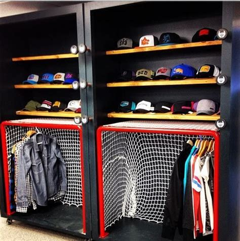 cool hockey bedrooms 17 best images about hockey gear storage on pinterest sports equipment wall racks