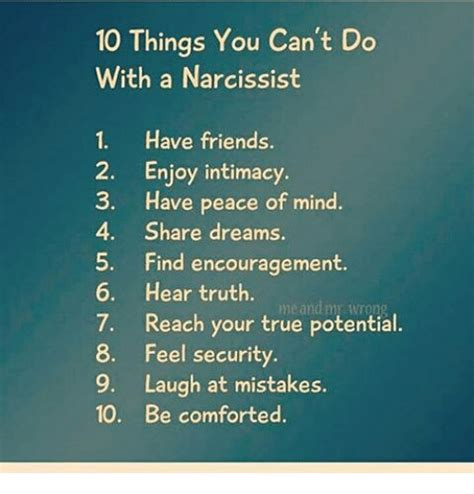8 Things That You Cant Help Laughing At by 10 Things You Cant Do With A Narcissist 1 Friends 2