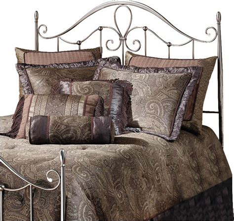 Antique Metal Headboards by Hillsdale Doheny Metal Headboard In Antique Pewter