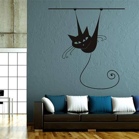 home decor for sale online hot sale animal siamese cat on rod living room wall