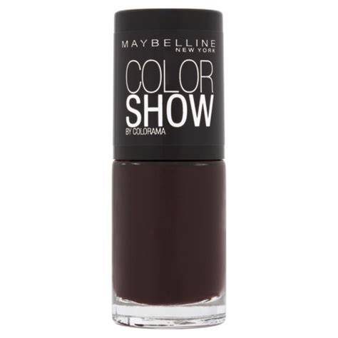 Maybelline Nail maybelline new york color show nail lacquer 357 burgundy