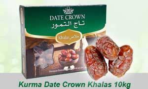 Grosir Kurma Date Crown Khalas 1karton grosir kurma murah jual aneka kurma pasarkurma