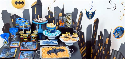 Table Decoration Ideas For Birthday Party by Batman Party Birthday Express