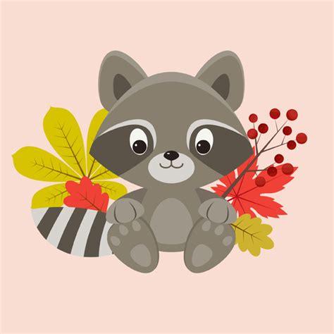 tutorial illustrator illustration create a cute raccoon character in adobe illustrator