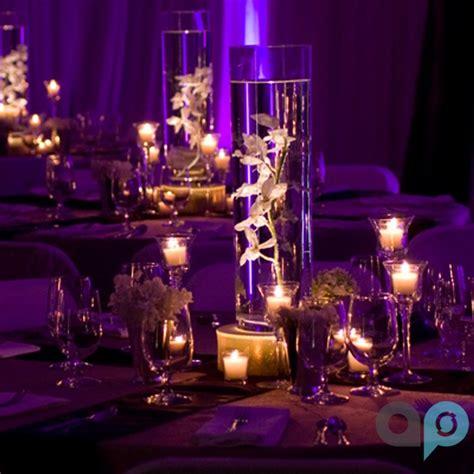 como decorar unos 15 años base negra luz led blanca para iluminar centros de mesa