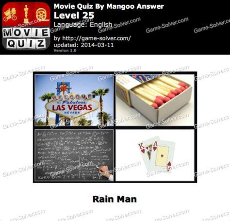 Film Quiz Level 25 | movie quiz mangoo level 25 game solver
