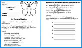Butterfly book report project templates worksheets rubric