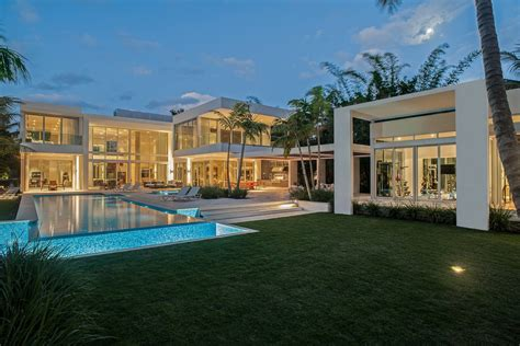 home for sale 32 million for a modern residence on miami breathtaking 8 bedroom 32 million miami mansion for sale