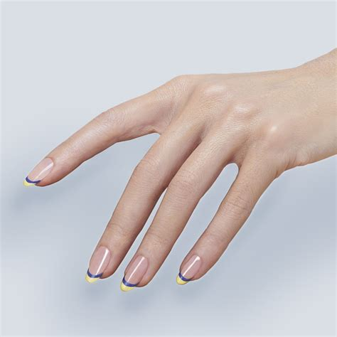 The Louboutin Manicure by Christian Louboutin Coloured Tips Manicure