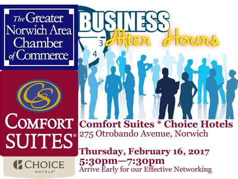 Choice Comfort by Gnacc Business After Hours Hosted By Comfort Suites