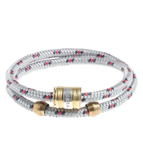 j crew miansai 174 rope bracelet in gray for lyst