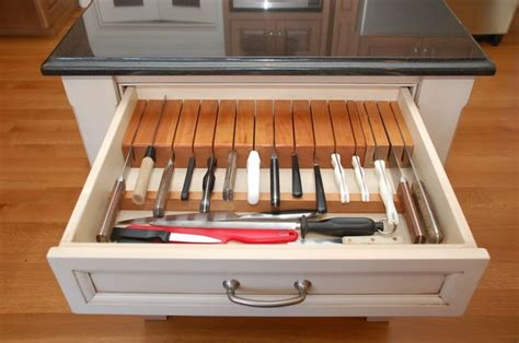 Knife Storage Drawer by Custom Knife Drawer For Bird Things Every Chef Must For Their Kitchen