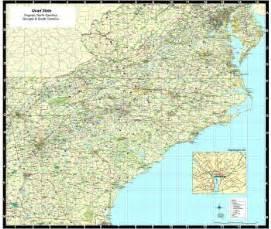 south carolina carolina virginia map