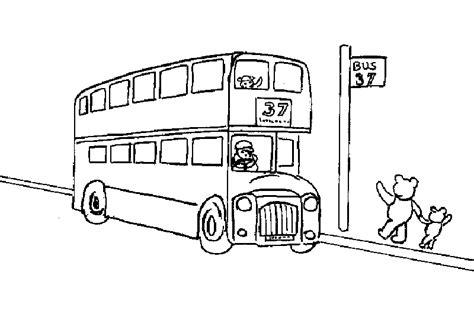 Dessin 195 Colorier Bus Angleterre