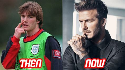 david beckham transformation then and now tattoos amp body