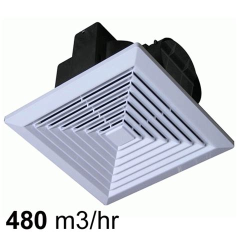 High Capacity Bathroom Exhaust Fans by High Capacity Jumbo White 250mm Ventilation