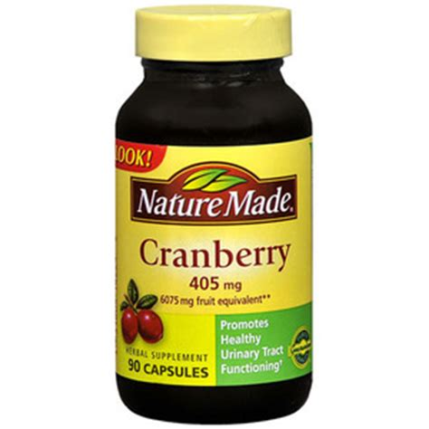 Suplemen Cranberry Nature Made Cranberry Supplement Reviews Viewpoints