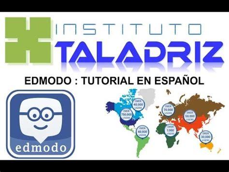 tutorial edmodo en castellano edmodo tutorial en espa 209 ol instituto taladriz youtube