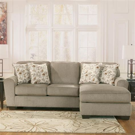 ashley patina sectional patola park patina 2 piece sectional with right chaise