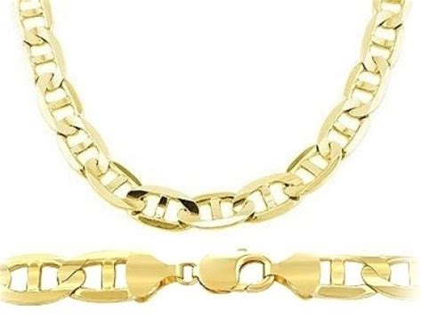 cadena de oro italy 417 14k gold bracelet made in italy cool costume jewelry for you