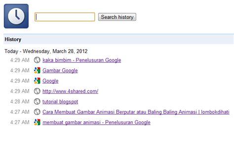 blogger tutorial blogspot com menghapus riwayat web di google chrome
