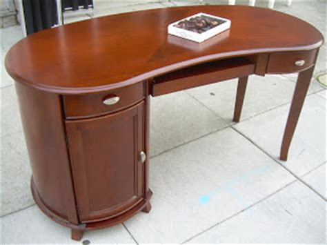 Kidney Bean Shaped Desk Uhuru Furniture Collectibles Sold Kidney Bean Shaped Computer Desk 200
